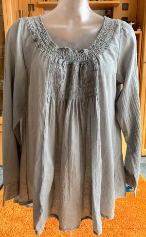 Tunic Dress grey cotton