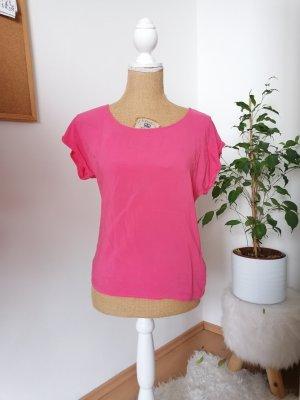 Vero Moda Camisa tipo túnica rosa