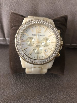 Michael Kors Analog Watch cream