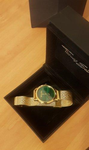 Thomas Sabo Reloj con pulsera metálica color oro