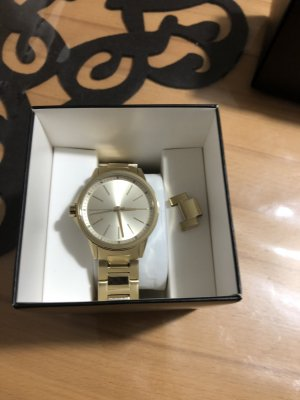 Armani Exchange Analog Watch gold-colored