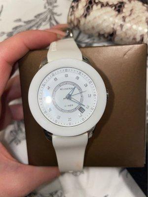 Zegarek automatyczny biały-srebrny