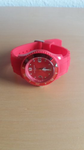 Analog Watch neon red