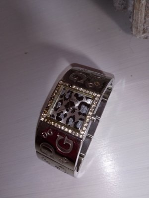 Guess Orologio con cinturino di metallo argento