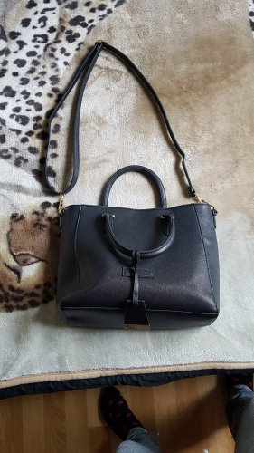 Hüftgold Crossbody bag black