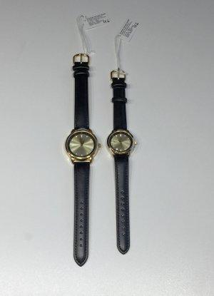 Cheifel Reloj analógico color plata-color oro metal