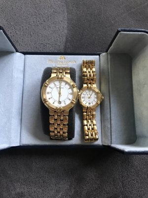Maurice Lacroix Watch With Metal Strap gold-colored