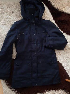 Vero Moda Chaqueta con capucha azul oscuro