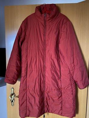 Płaszcz oversize ciemnoczerwony-czerwony