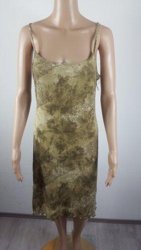 Damen Viskose Freizeitkleid Sommerkleid Strandkleid gemustert Größe L