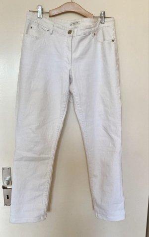 More & More Jeansy rurki biały