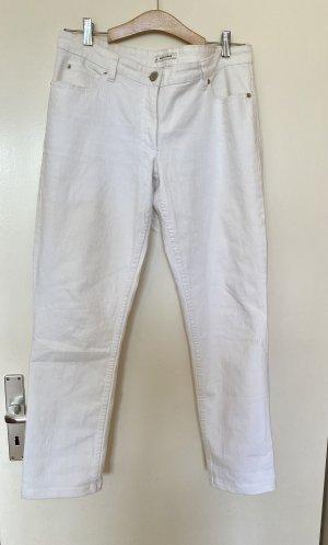 Damen weiße Jeans Hose Gr 42 More & More