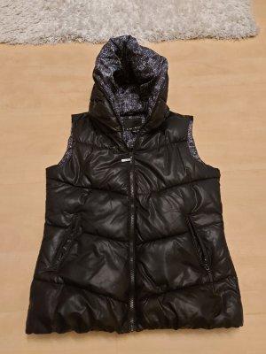 ohne Marke Omkeerbaar vest zwart