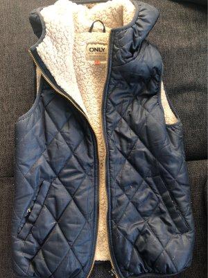Only Capuchon vest blauw
