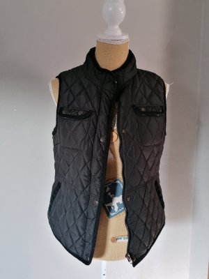Ohne Quilted Gilet black