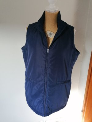 Ohne Quilted Gilet dark blue