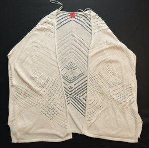 Livre Crochet Cardigan cream mixture fibre
