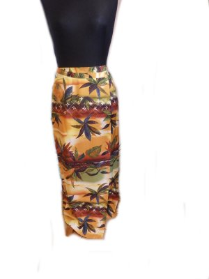Hennes Collection by H&M Wraparound Skirt multicolored viscose