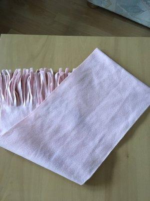 keine Marke Bufanda de flecos rosa claro