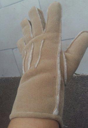 Padded Gloves light brown