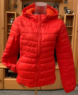 Damen Winter Jacke Stepp Kapuze Edel Parka Gr.S in Rot von Only NW
