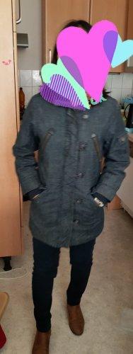Damen winter jacket in Denim
