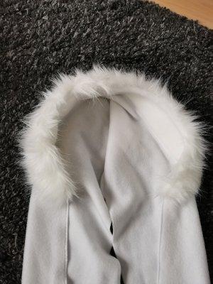 Futrzana czapka biały