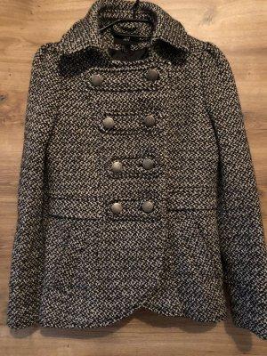 H&M Wool Coat light grey-black
