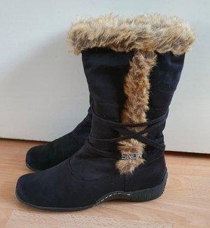Ariane Buty zimowe czarny-brązowy