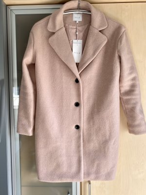 Damen Woll Mantel rosa altrosa Gr 36 Vila Neu mit Etikett NP€ 59,99