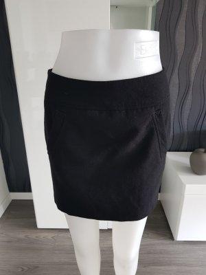 H&M Wollen rok zwart