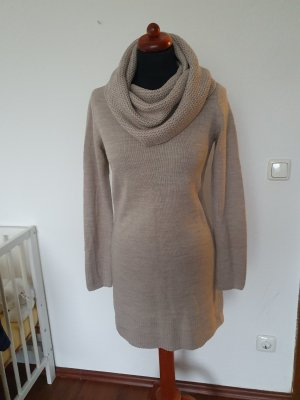H&M Vestido de lana gris claro