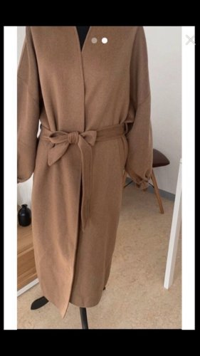 Zara Cappotto stile pilota color cammello