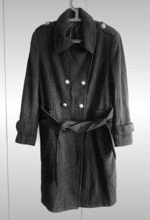 C&A Yessica Wełniany płaszcz czarny