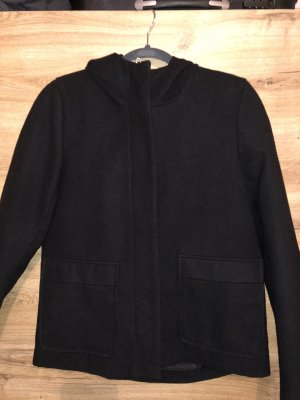 Jacqueline de Yong Wool Coat black