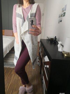 Yaya Vestaglietta grigio chiaro-grigio Lana