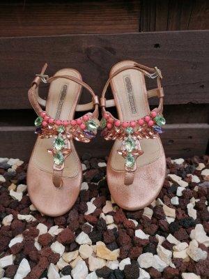 Buffalo Flip-Flop Sandals rose-gold-coloured