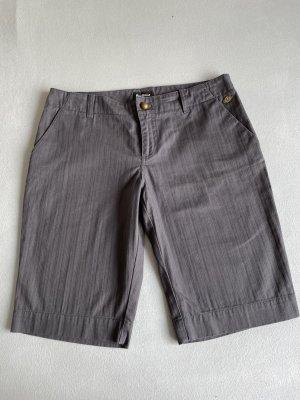 Anastacia by s.Oliver Denim Shorts dark grey cotton