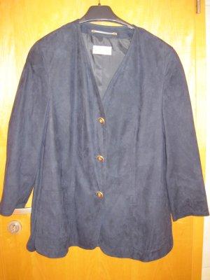 Damenblazer / Damenjacke/ Damen Blazer von Delmod, dunkelblau, Gr. 42