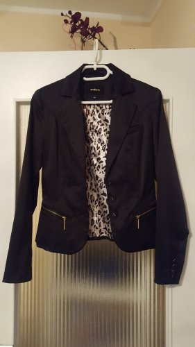 Absolut by Zebra Blazer court noir coton