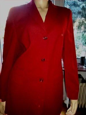 Damenblazer von Basler - Gr.44-rot-Schurwolle