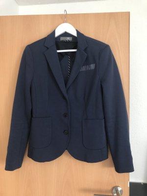 Easy Wear Blazer en jersey bleu-bleu foncé