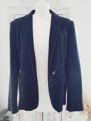 Zara Blazer en laine bleu