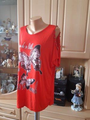 Made in Italy Camisa holgada rojo