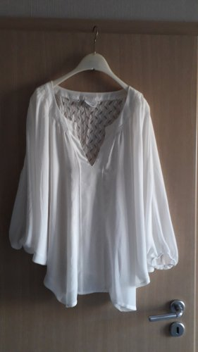 B.young Long Sleeve Blouse white