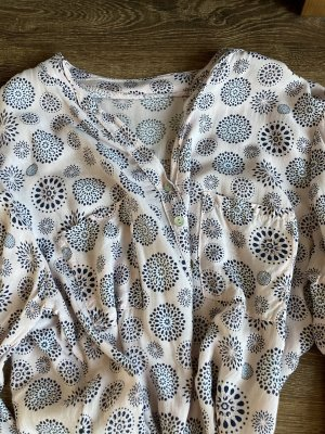 Made in Italy Blouse à enfiler vieux rose-gris clair