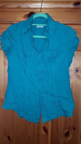 C&A Yessica Blouse en lin turquoise