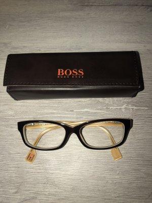 Boss Orange Occhiale nero-giallo-oro