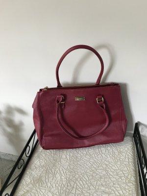 BCBG Carry Bag bordeaux imitation leather