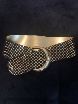 Dolce & Gabbana Cinturón pélvico color oro-negro